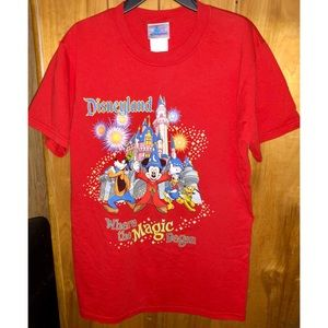 Disneyland Unisex Adult Shirt, Size Small, BNWOT